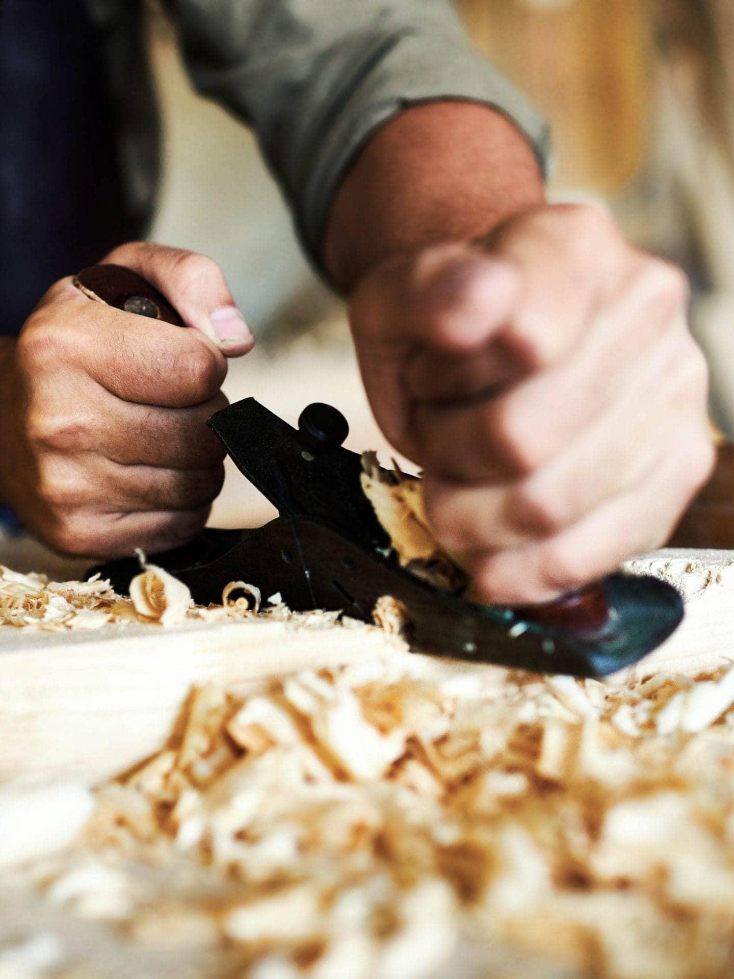 Odermatt Ideenschreinerei Manufaktur Handwerk Holzhobel