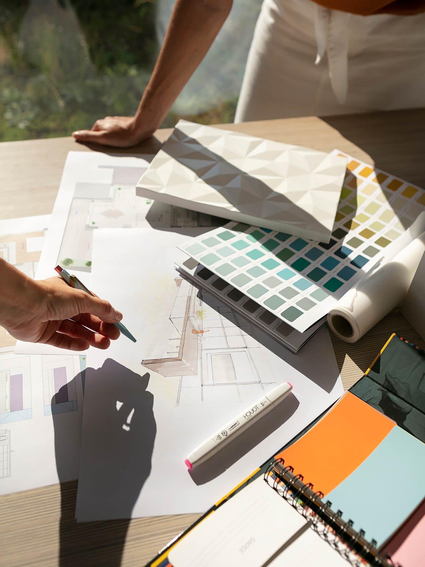 Odermatt Ideenschreinerei Innenarchitektur Plan
