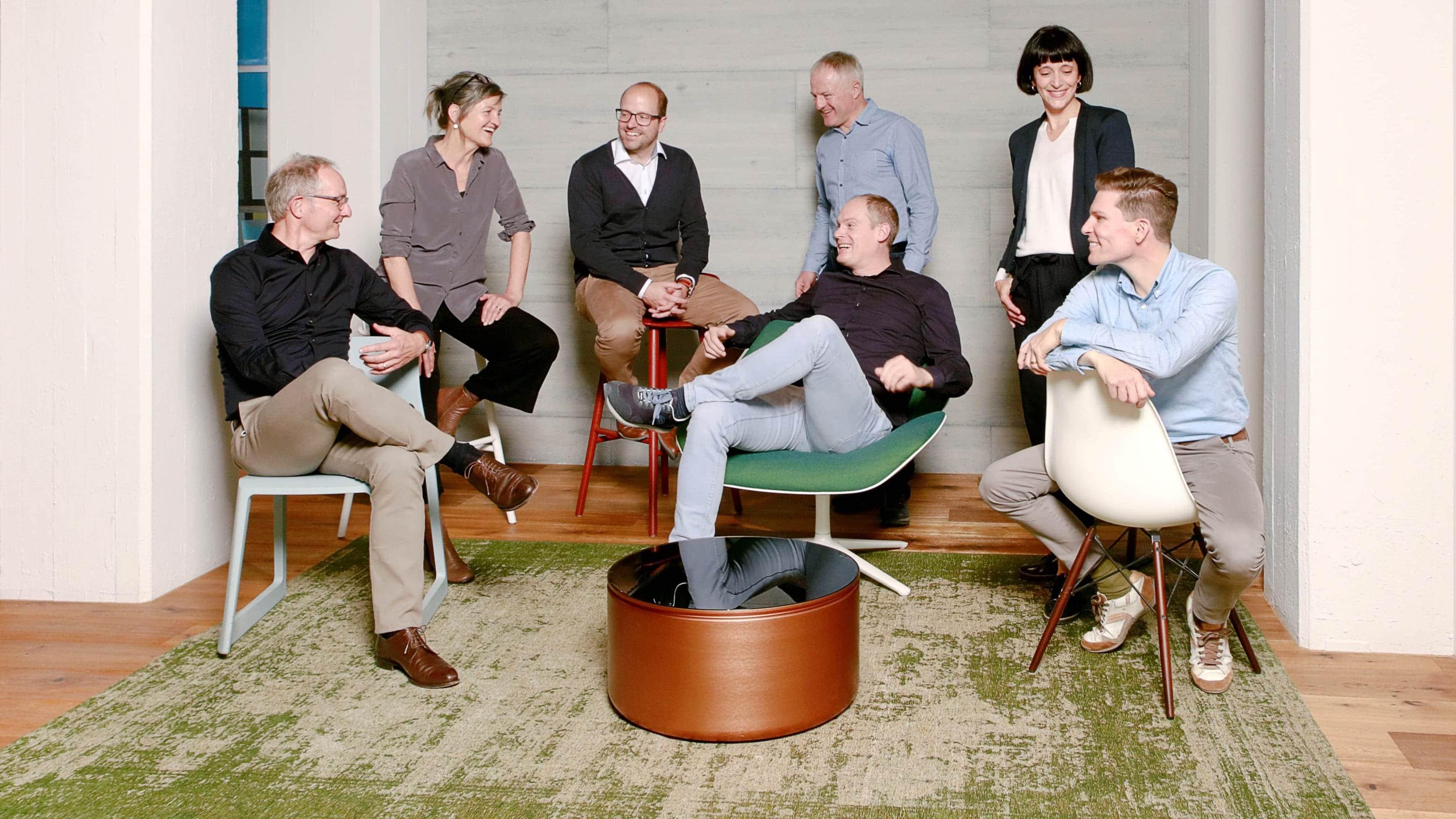 Odermatt Ideenschreinerei Team Gruppenbild Geschäftsführung