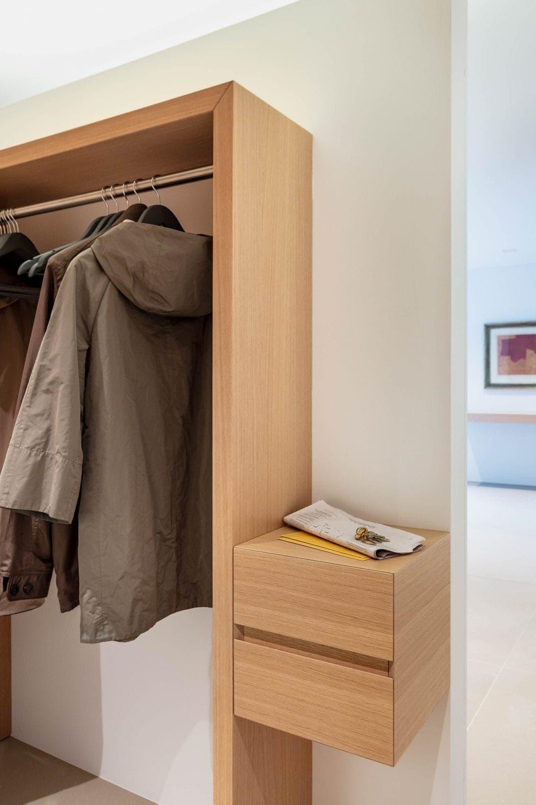 Odermatt Ideenschreinerei Möbel Garderobe