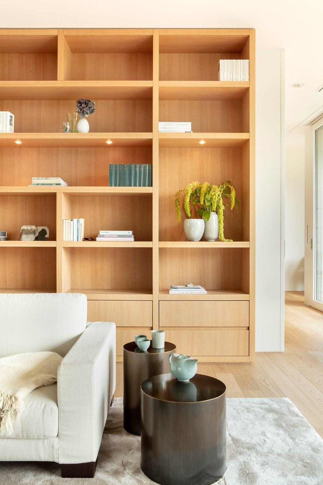 Odermatt Ideenschreinerei Wohnraum Wohnwand